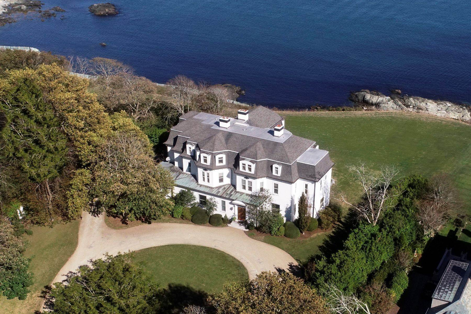 3. Single Family Homes for Sale at 'Ocean View' 662 Bellevue Avenue Newport, Rhode Island 02840 United States