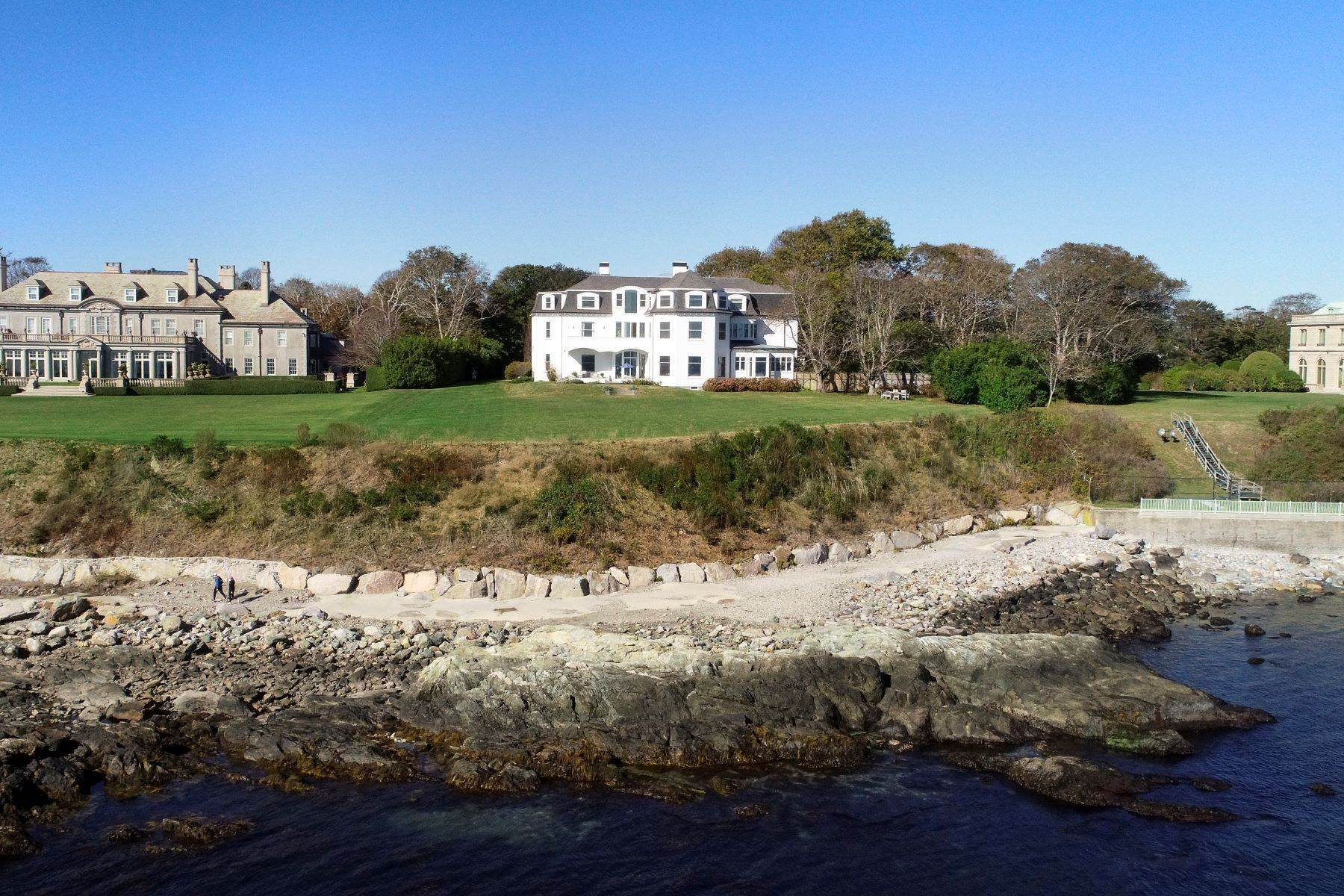 4. Single Family Homes for Sale at 'Ocean View' 662 Bellevue Avenue Newport, Rhode Island 02840 United States