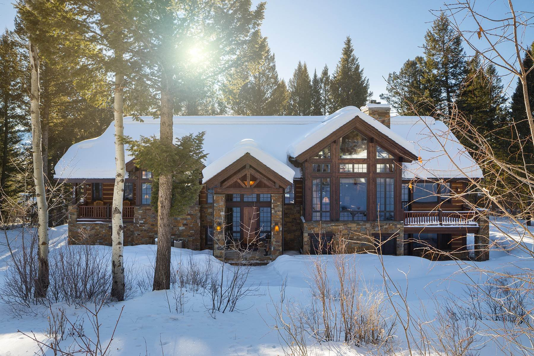 Single Family Homes for Sale at 3730 W Curtis Drive Teton Village, Wyoming 83025 United States