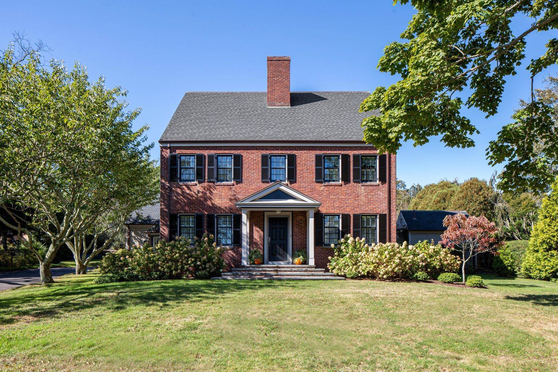 Single Family Homes for Sale at Masterfully Renovated Brick Colonial 357 Gibbs Avenue Newport, Rhode Island 02840 United States