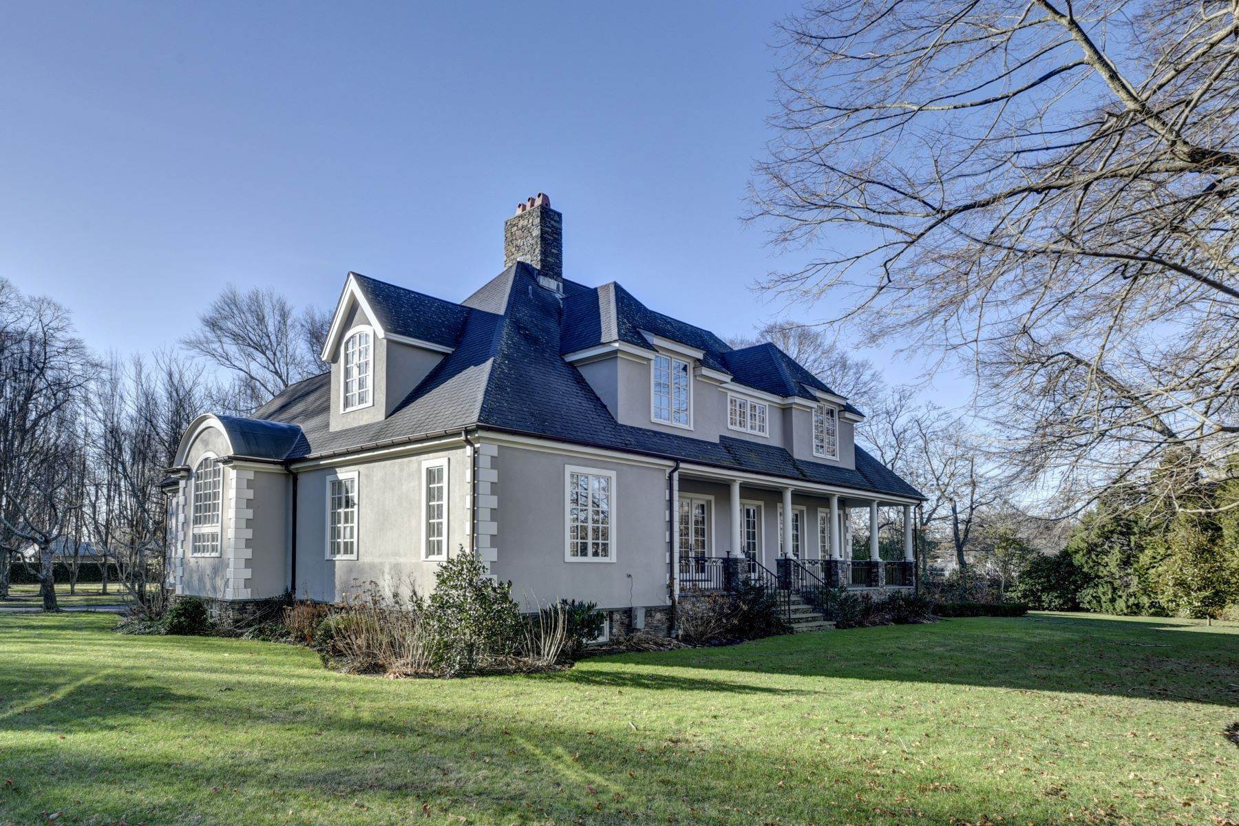 3. Single Family Homes for Sale at Elegant French Country Style Residence 11 Ocean Lawn Lane Newport, Rhode Island 02840 United States