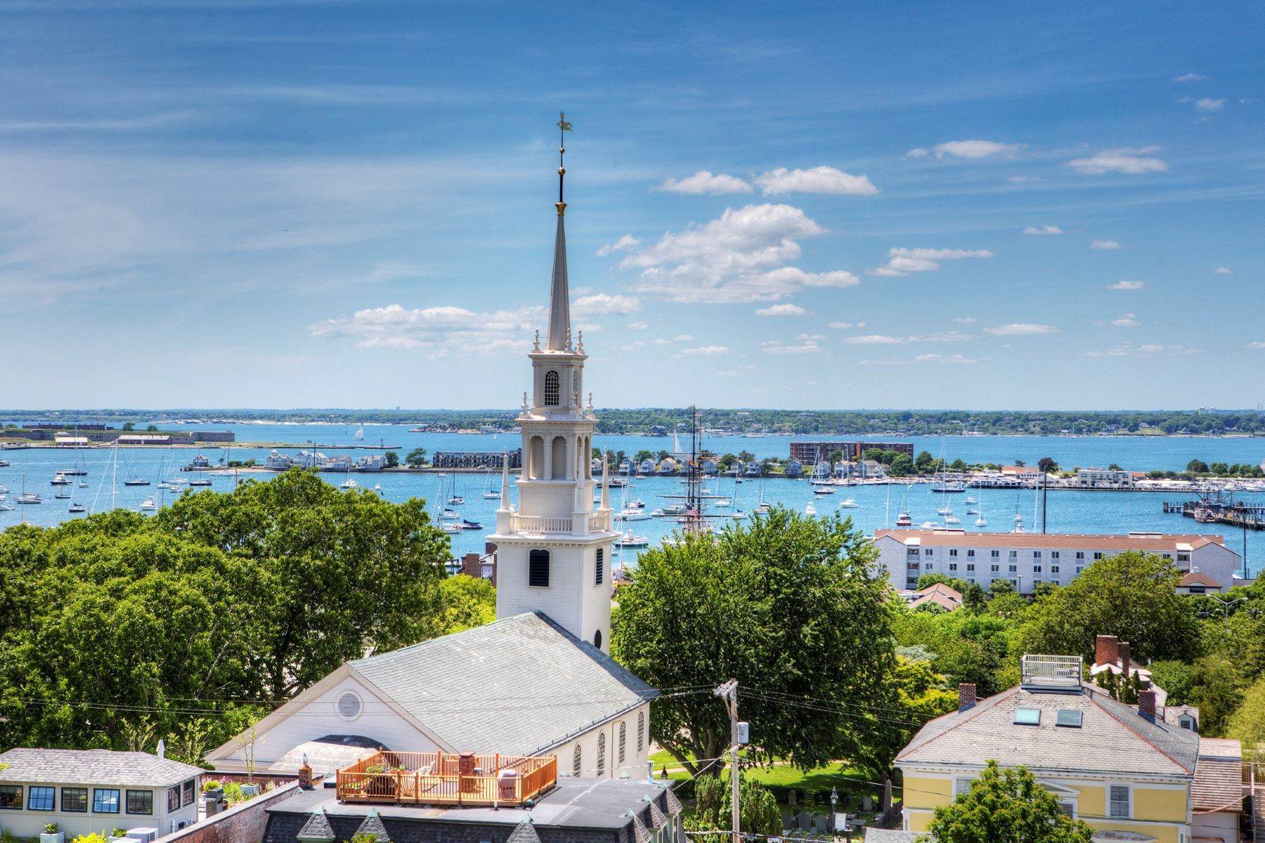 Condominiums for Sale at Harrison House Luxury Condo 50 School Street, Unit #1 Newport, Rhode Island 02840 United States