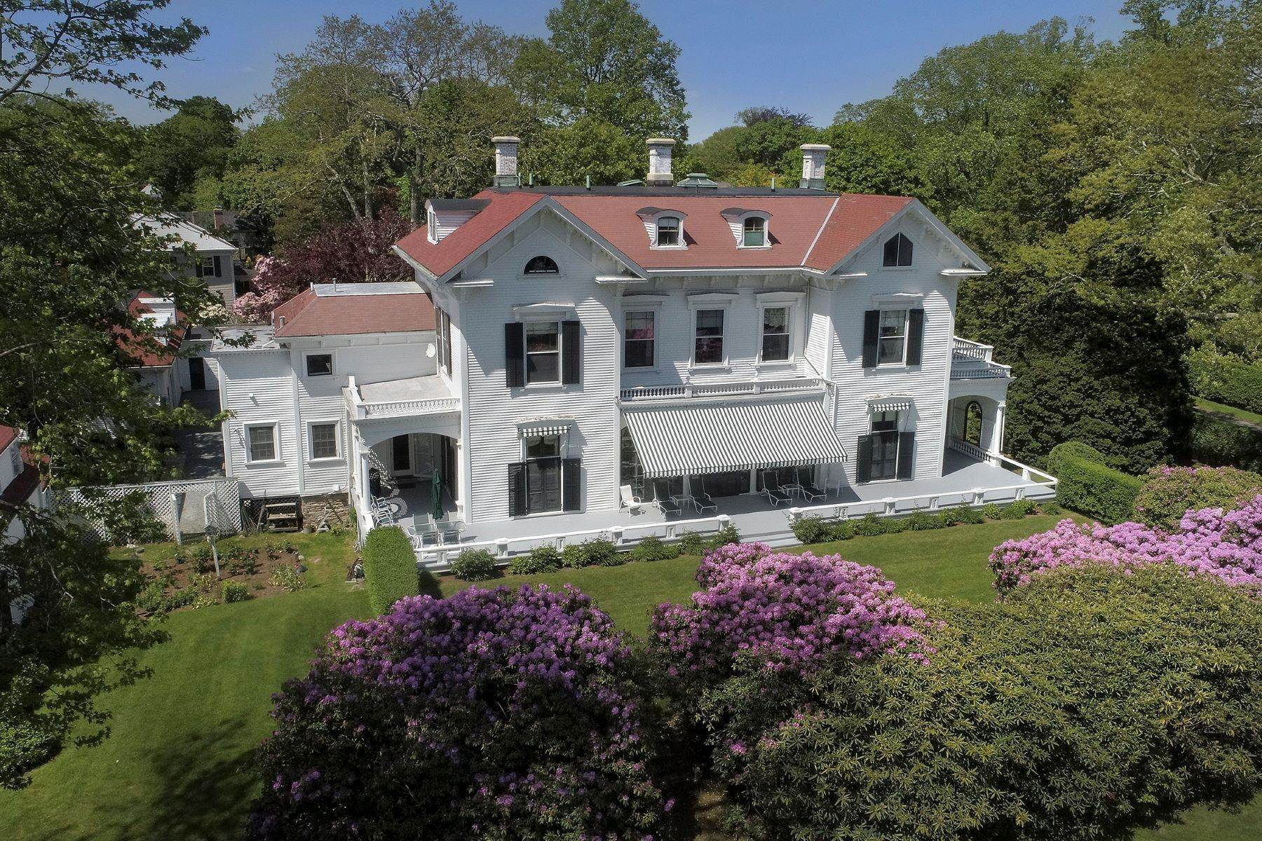 45. Single Family Homes for Sale at Gravel Court 21 Clay Street Newport, Rhode Island 02840 United States