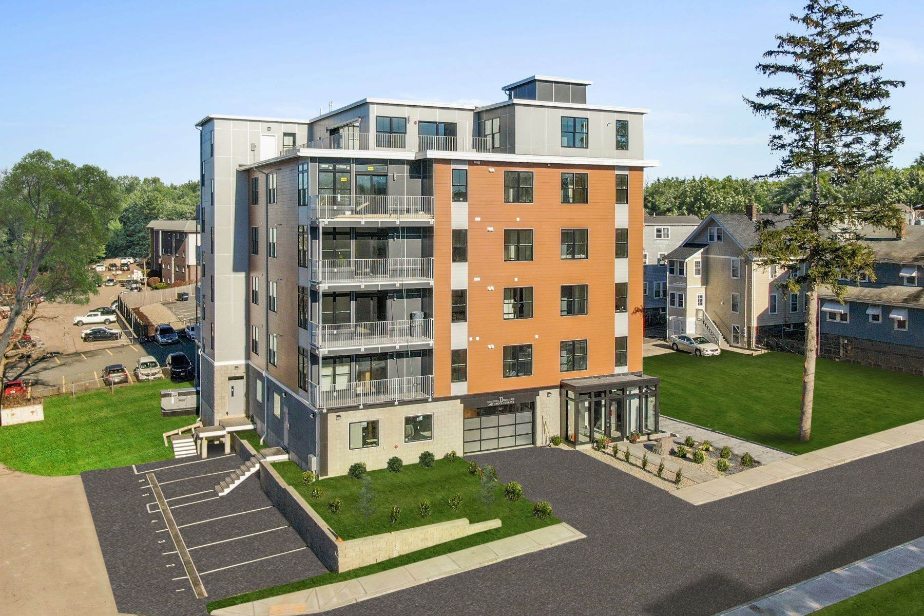 Condominiums por un Venta en 11 Oak Grove Terrace - Unit 402 Quincy, Massachusetts 02169 Estados Unidos