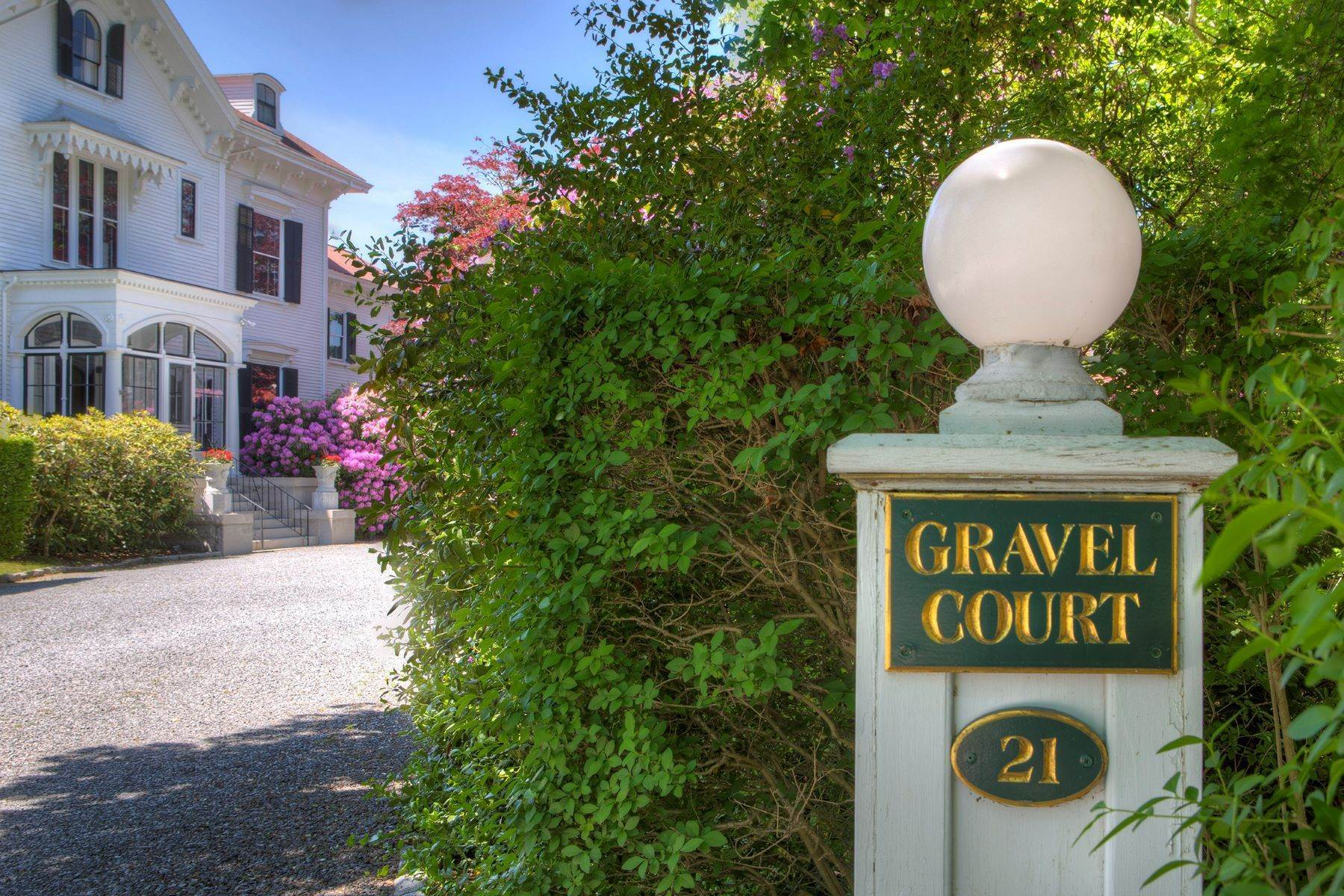 5. Single Family Homes for Sale at Gravel Court 21 Clay Street Newport, Rhode Island 02840 United States