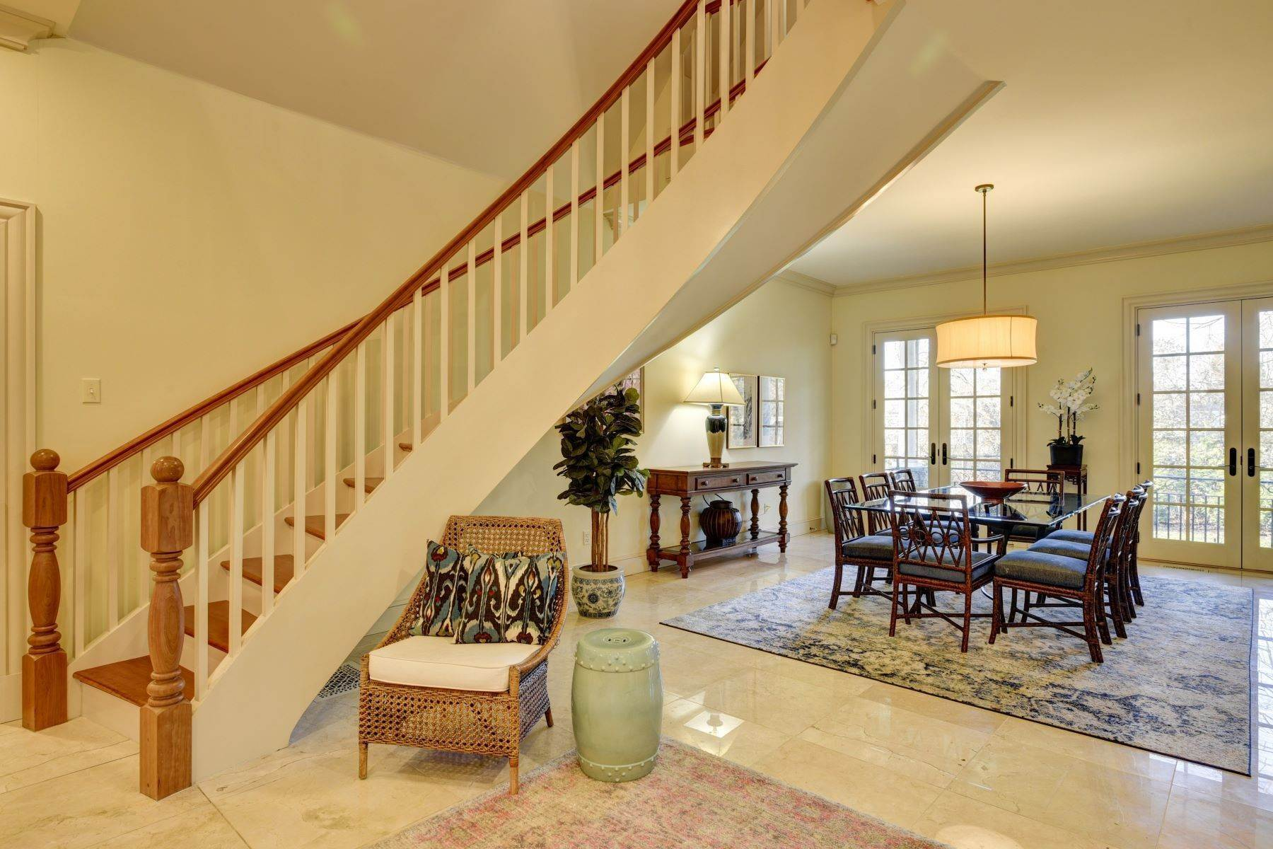 21. Single Family Homes for Sale at Elegant French Country Style Residence 11 Ocean Lawn Lane Newport, Rhode Island 02840 United States