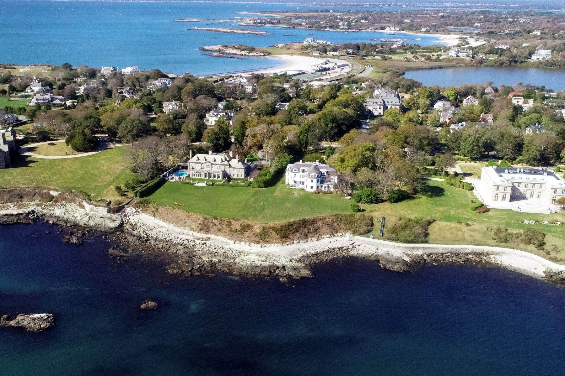 8. Single Family Homes for Sale at 'Ocean View' 662 Bellevue Avenue Newport, Rhode Island 02840 United States
