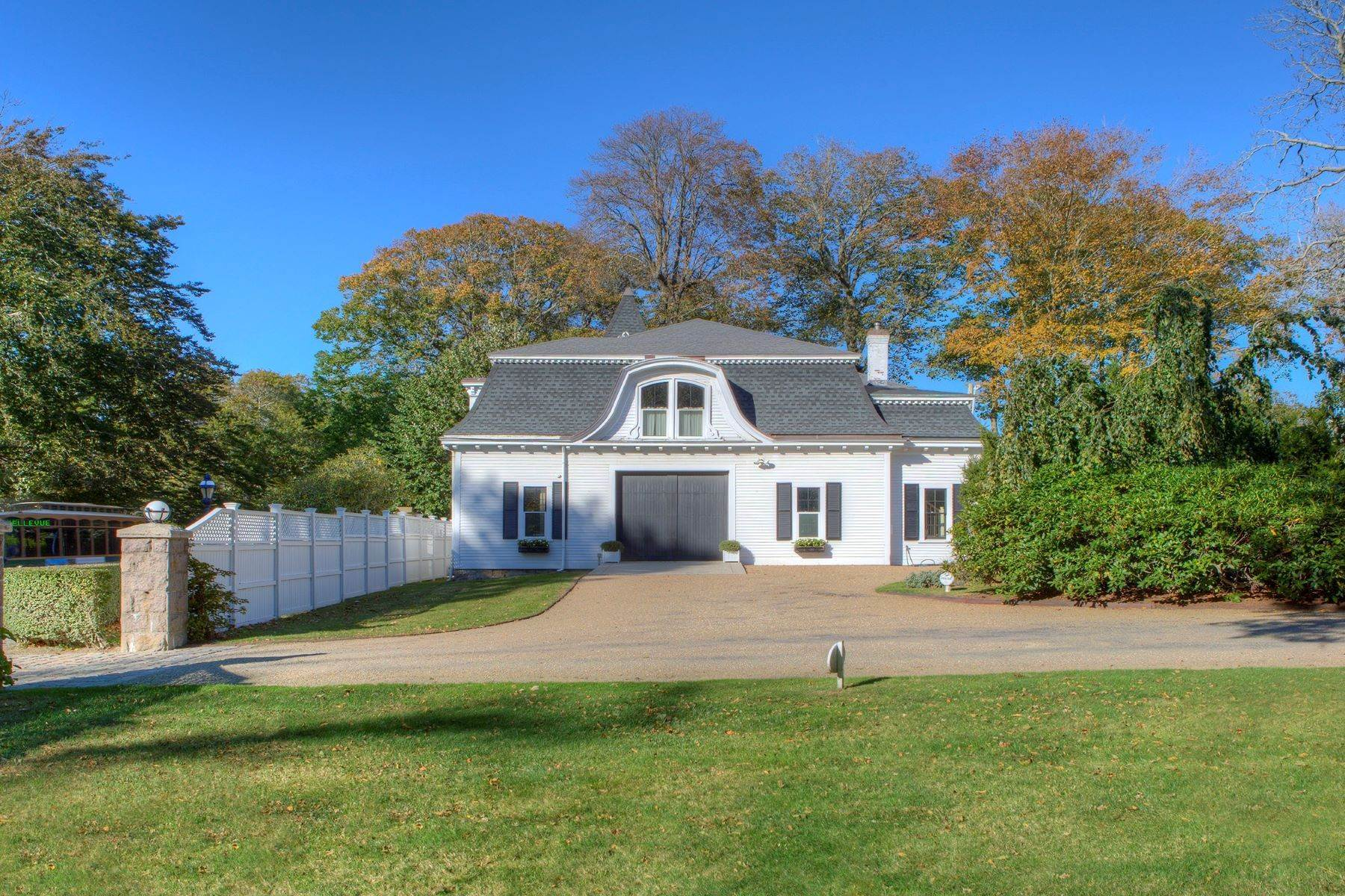 45. Single Family Homes for Sale at 'Ocean View' 662 Bellevue Avenue Newport, Rhode Island 02840 United States