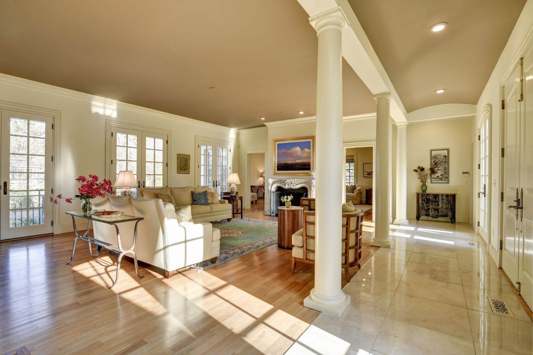 10. Single Family Homes for Sale at Elegant French Country Style Residence 11 Ocean Lawn Lane Newport, Rhode Island 02840 United States
