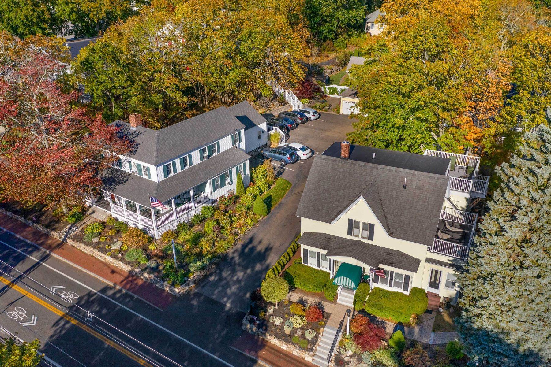 Multi-Family Homes for Sale at Landmark Multi-Family Residence in the Heart of Ogunquit Village 280 & 286 Main Street Ogunquit, Maine 03907 United States