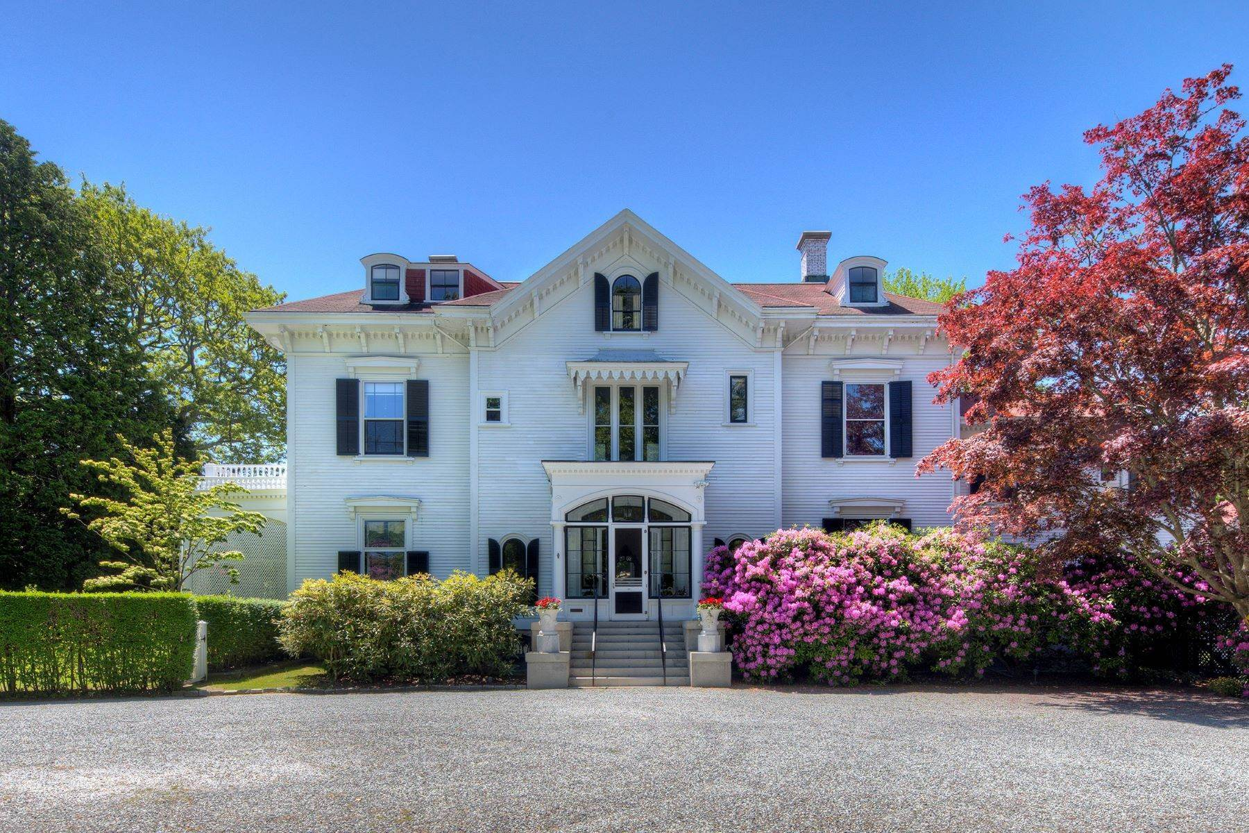 Single Family Homes por un Venta en Gravel Court 21 Clay Street Newport, Rhode Island 02840 Estados Unidos