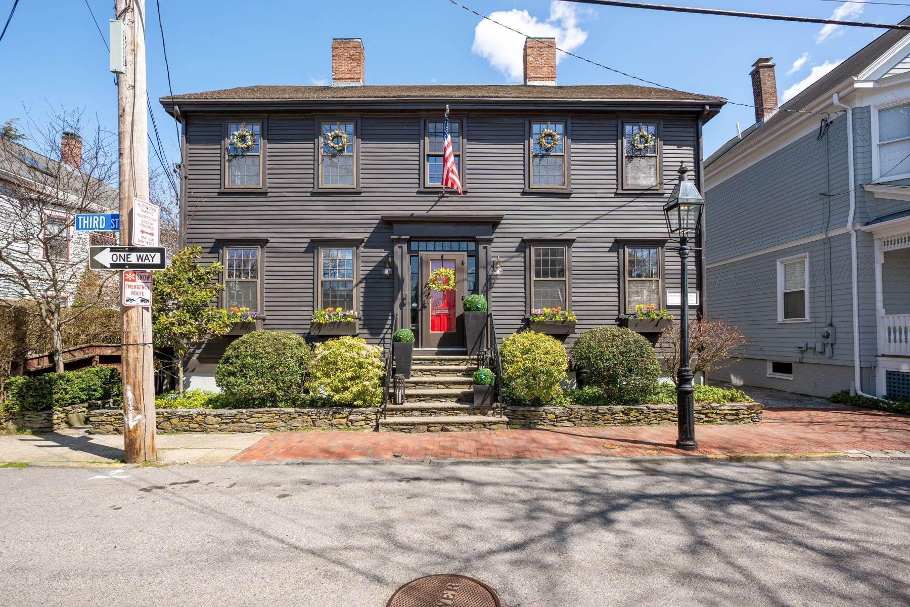 Single Family Homes for Sale at Solomon Southwick House 77 Third Street Newport, Rhode Island 02840 United States