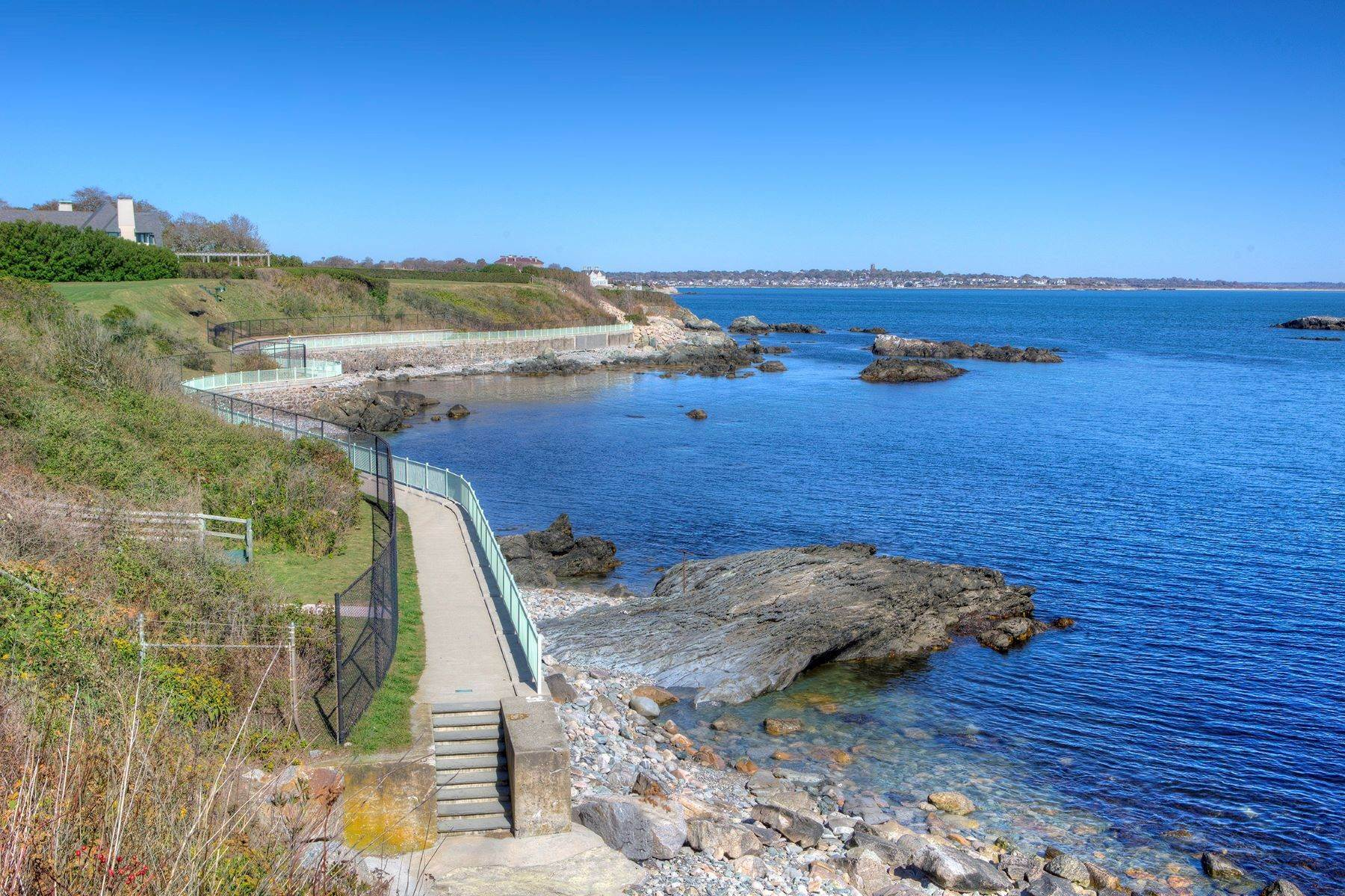 6. Single Family Homes for Sale at 'Ocean View' 662 Bellevue Avenue Newport, Rhode Island 02840 United States