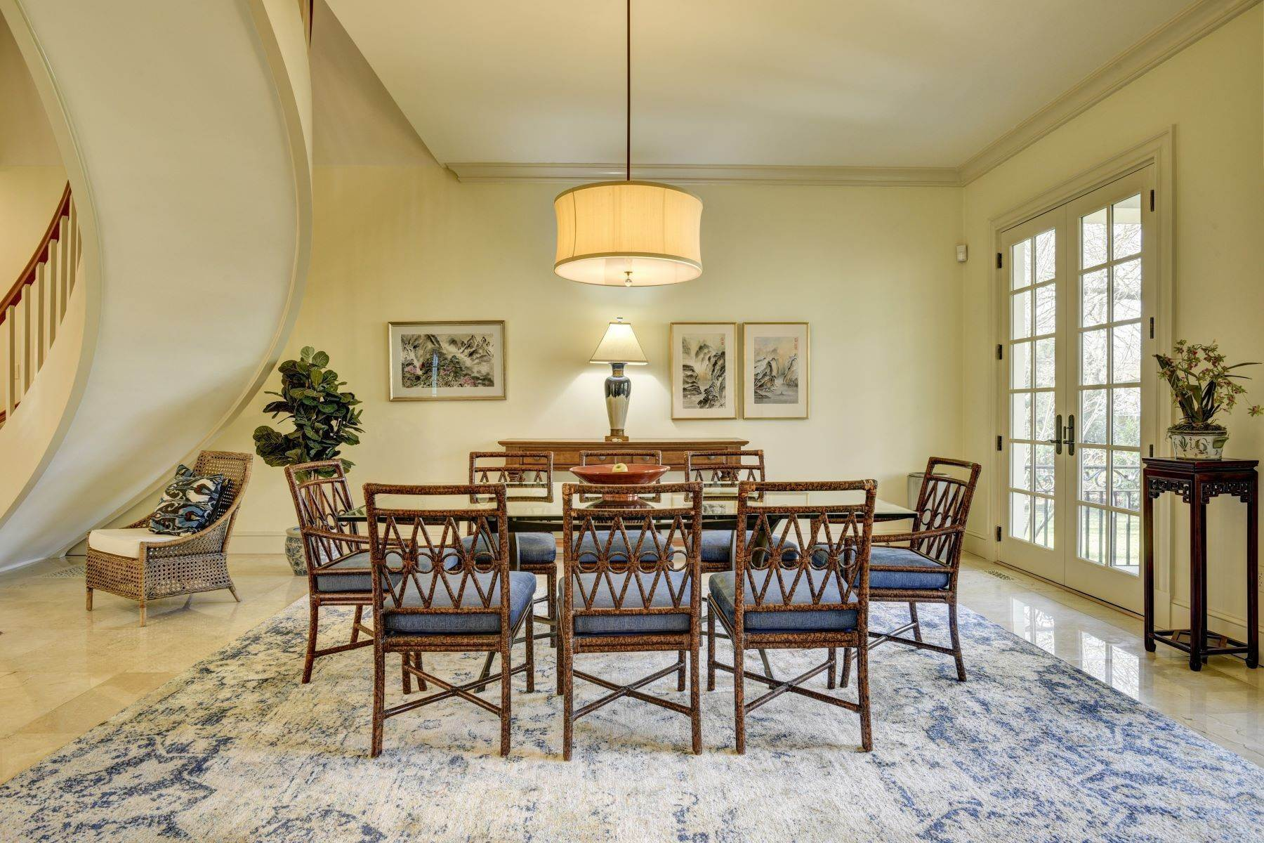 22. Single Family Homes for Sale at Elegant French Country Style Residence 11 Ocean Lawn Lane Newport, Rhode Island 02840 United States