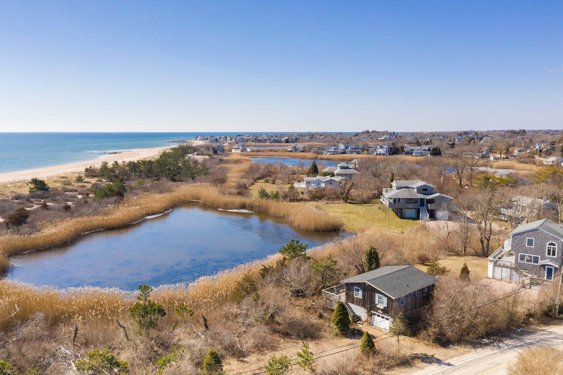 Single Family Homes for Sale at 439 East Beach Road Charlestown, Rhode Island 02813 United States