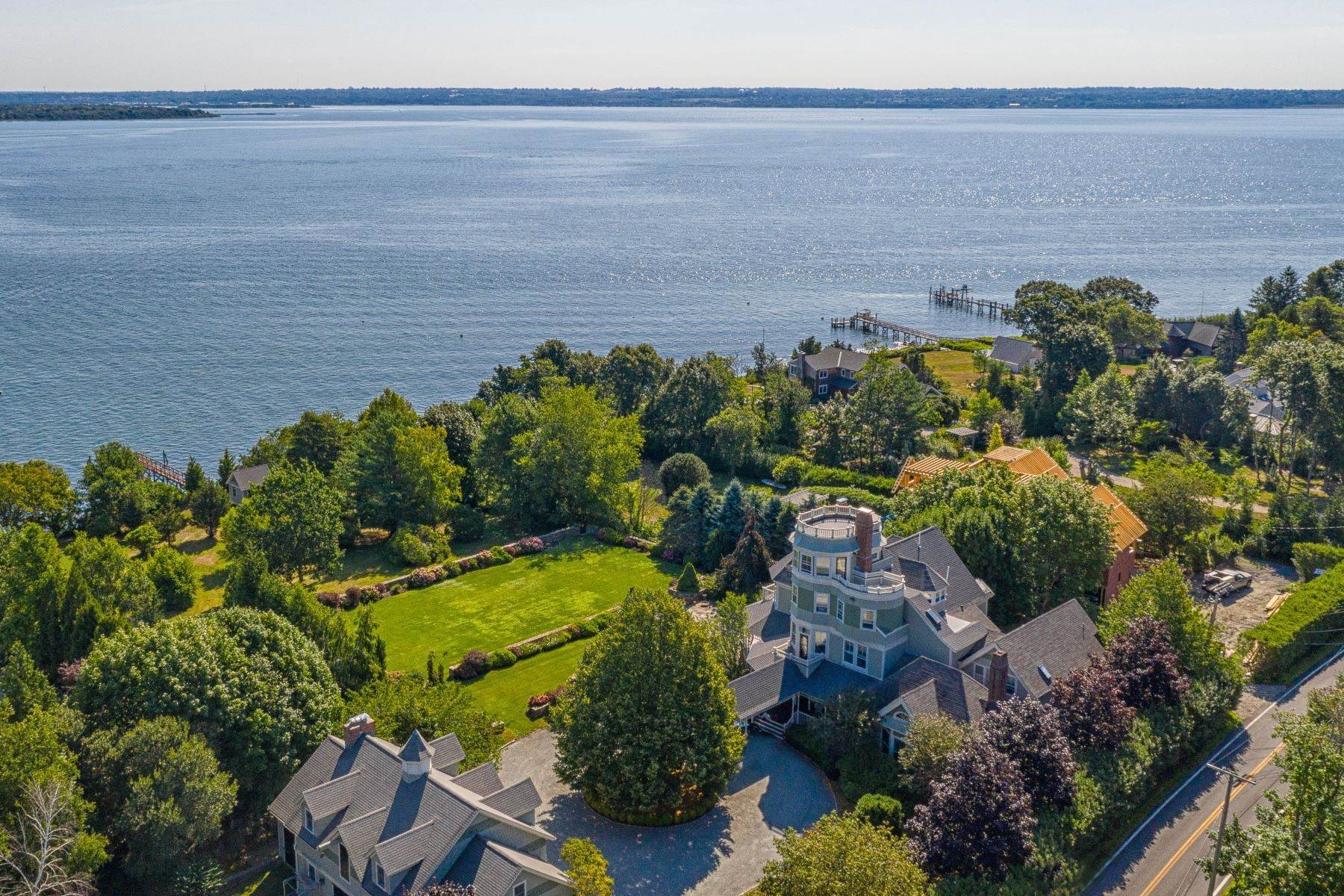 Single Family Homes for Sale at 1076 East Shore Road, Jamestown, RI 1076 East Shore Road Jamestown, Rhode Island 02835 United States