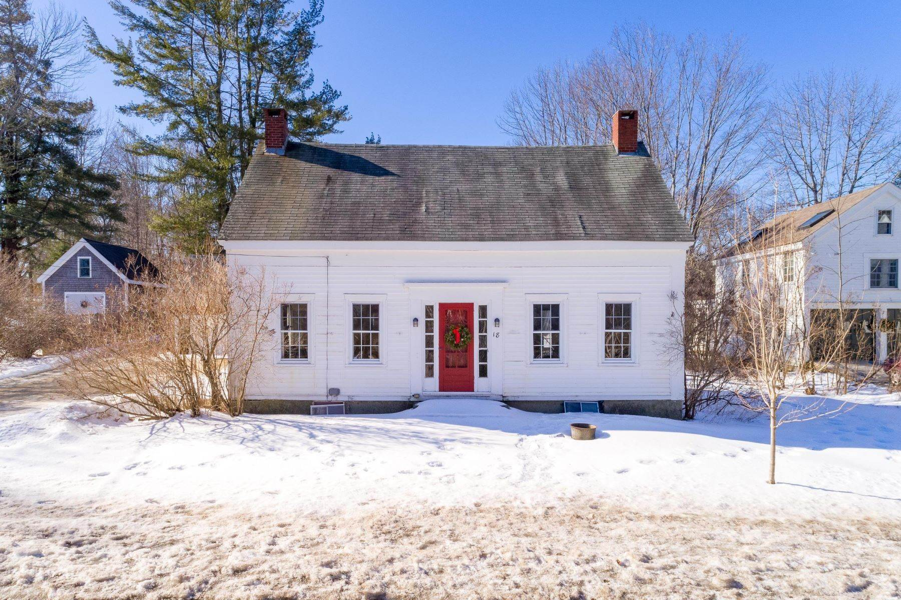 Single Family Homes for Sale at 18 Main Street Freeport, Maine 04032 United States