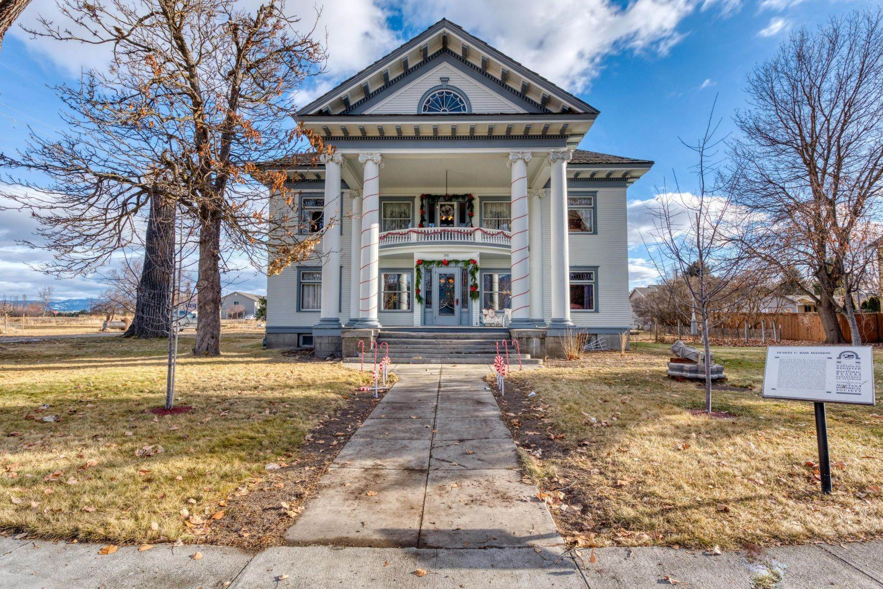 Single Family Homes for Sale at Historic Bass Mansion 100 College Street Stevensville, Montana 59870 United States