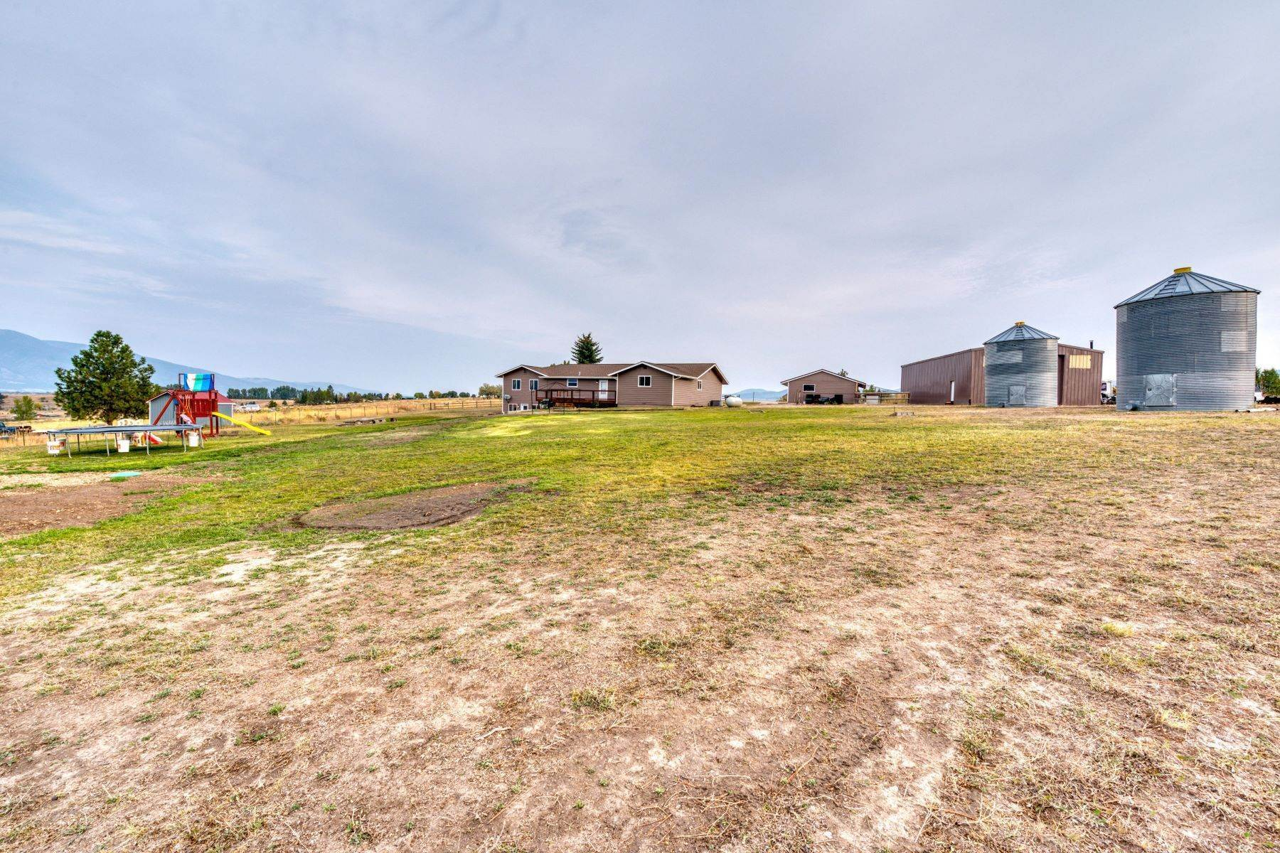 Single Family Homes for Sale at Rural Living with Views 4031 Sunnyside Cemetery Road Stevensville, Montana 59870 United States