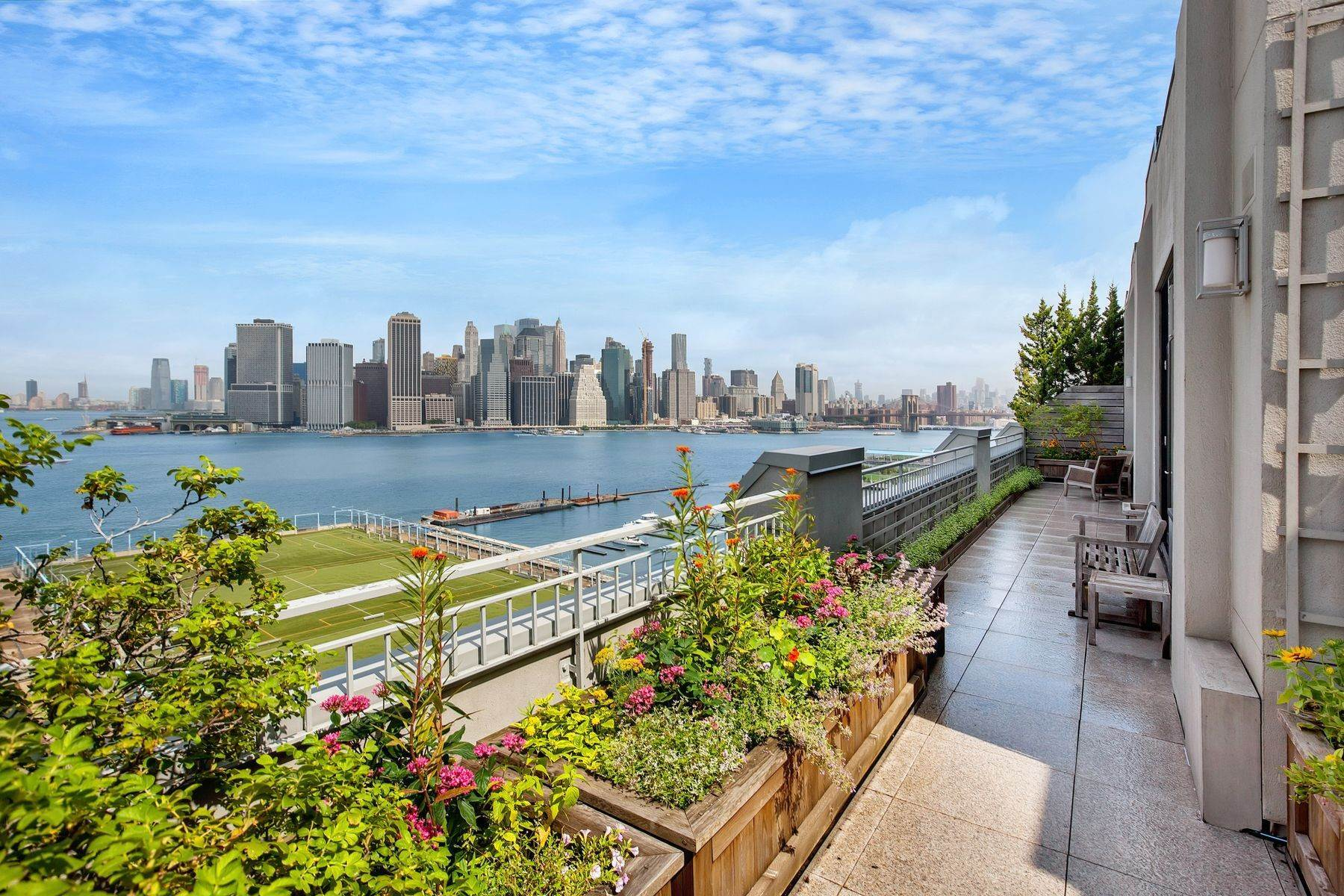 Condominiums for Sale at Townhouse in the Sky with Amenities 360 Furman Street, Apt 1216 Brooklyn, New York 11201 United States